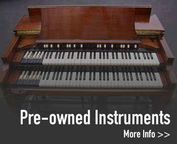 Used organs and pianos. New instrument close outs
