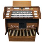 Rodgers Artist Series 4589 Organ Console