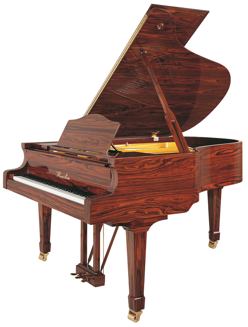 Haessler H 186 RoseWood Upright Piano