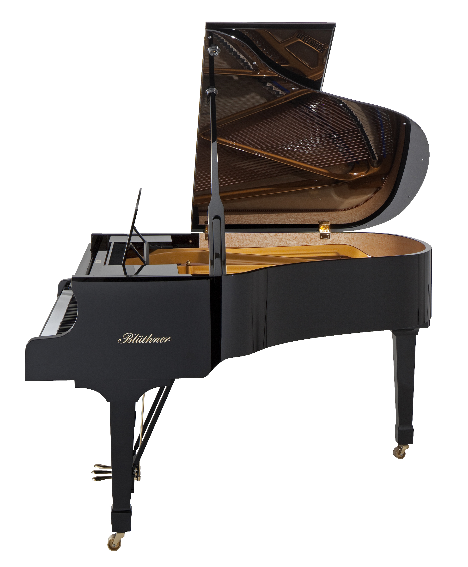 Bluthner Model 10 Black Small Grand Piano