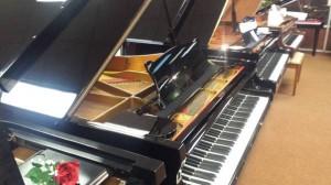 Used Black Toyo Grand Piano