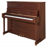 H 118 Walnut Polish Haessler Upright Piano