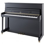 P 116 E Black Polish Irmler Upright Piano