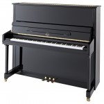 P 132 E Black Polish Irmler Upright Piano
