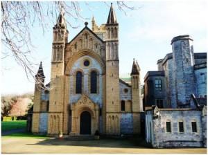 Work in Progress: Buckfast Abbey Monastery, Devon, England